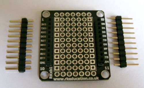 RKxb1 Breakout PCB for XBee Modules Self Build Kit